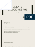 Cliente Soluciones 491