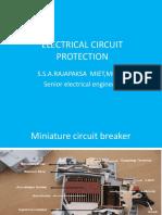 English Slides on Circuit Protection English