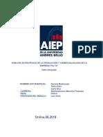 Análisis Estratégico de La Producción y Comercialización de La Empresa Palto