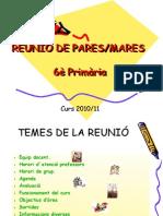 REUNIÓ DE PARES 10-11