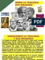 La Teología y sus exponentes origen y desarrollo