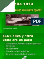 Condiciones Previas Al Golpe de Estado1973