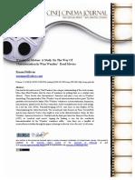 Wim Wenders - CINEJ Cinema Journal