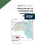Poblacion 2018 DEFINITIVO Edo. Bolivar, Por Distritos_ Municipios_Parroquias_Edad_ Genero, Seg_n INE - Copia
