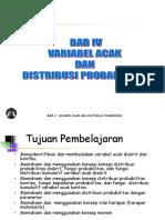Variabel Acak Dan Teori Probabilitas