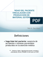 Seguridad del paciente y su vinculación con la producción de material estéril.ppt