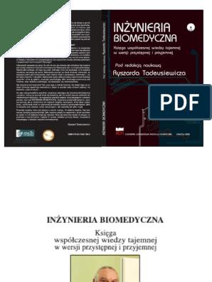 Inżynieria Biomedyczna Ryszard Tadeusiewicz