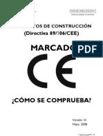 Normas Marcado CE (Mayo 08)