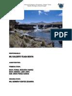 Memoria Descriptiva Geologia Tacna