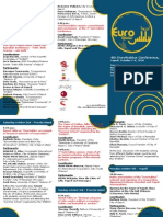 4th EuroNablus Conference, Final Programme