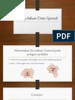 9. Pengolahan Data Spasial