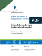 Modul Sistem Informasi Dan Pengendalian Internal [TM1]