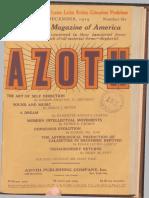 Azoth December 1919