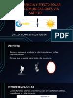 Interferencia y Efecto Solar en Las Comunicaciones Via