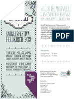 Stadt Feldkirch Gauklerfestival 2018 07-27-28 Programm
