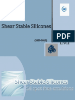 Shear Stable Silicone