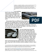 Bullet Trains Are Trains Where Maglev