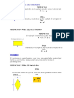 area y perimetro Cuadrado y Rectángulo