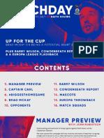ICTFC Matchday 2. Raith Rovers