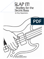 Slap it Studies for hte electric bass