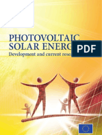 2009 Report Solar Energy