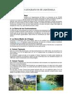 Hechos Geograficos de Guatemala