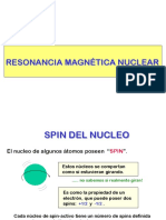 RMN INTRODUCCION A RESONANCIA MAGNETICA NUCLEAR