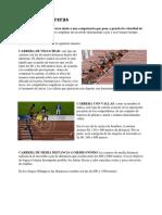 Clases de Carreras atletismo