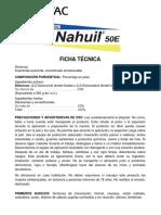 NAHUIL 50E Ficha Tecnica