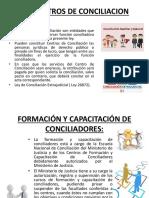 Los Centros de Conciliación y Acta