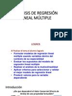 Análisis de Regresión Lineal Múltiple