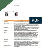 Business IT Collaboration Infa 9 Launch Chat Transcript