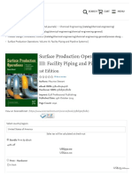 Surface Production Operations_ Volume III_ Facility Piping and Pipeline Systems - 1st Edition