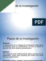 Pasos de La Investigacion (1) HUMBERTO