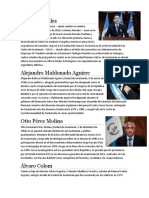 Los Primieros 10 Presidentes de Guatemala