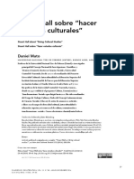 Stuart Hall Sobre Hacer Estudios Culturales