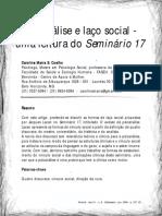 Uma Leitura Do Seminário 17