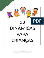 53 Dinamicas Para Crianças (Apostila PDF).pdf