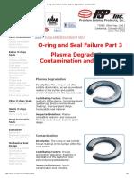 O-ring, Seal Failures Include Plasma Degradation, Contamination_3