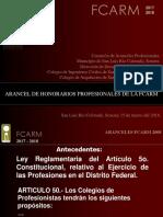 Presentacion Aranceles FCARM San Luis Rio Colorado