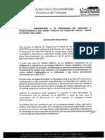 Reforma Ordenanza Radio Cotopaxi