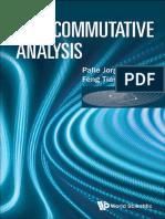 Non Commutative Analysis