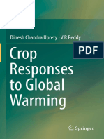 Dinesh Chandra Uprety, V.R Reddy (Auth.)-Crop Responses to Global Warming-Springer Singapore (2016)