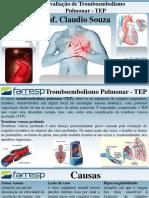 Aula 27 - Protocolo para avaliação de Tromboembolismo Pulmonar -  TEP.pdf
