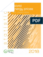 World Energy Prices 2018 Overview