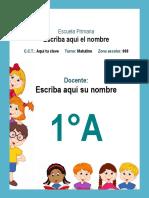 1er Grado  - Agenda Escolar 2018-2019 (Primaria).docx
