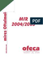 Oftalmologia Preguntas 1 2004-2005