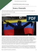 América Latina Frente a Venezuela - Tokatlian 2017