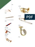 Instrumentos de Madera Viento