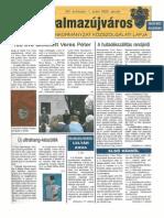 Balmazújváros újság - 2005 január